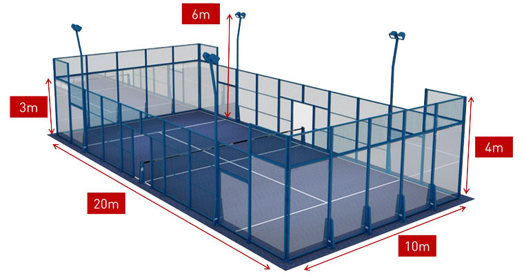 Padel Tennis Court