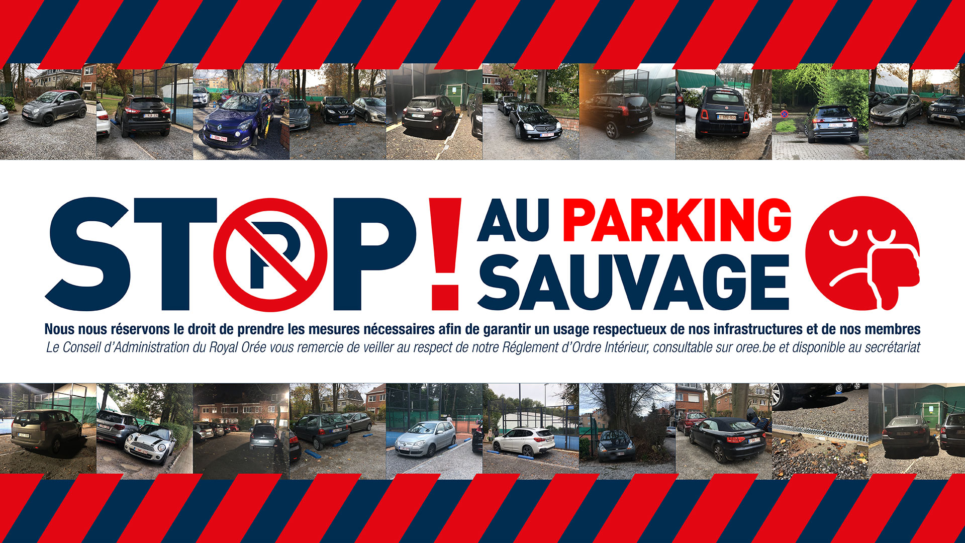 Stop au parking sauvage
